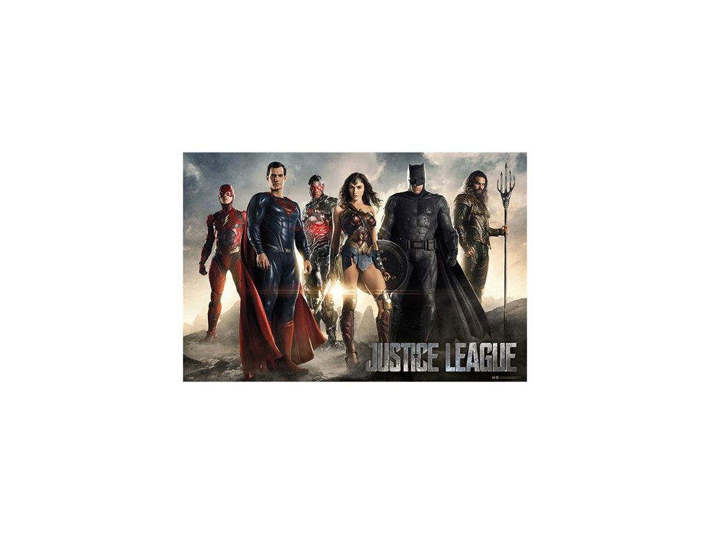 PLAKÁT 61 x 91,5 cm|DC COMICS  JUSTICE LEAGUE|CHARACTERS