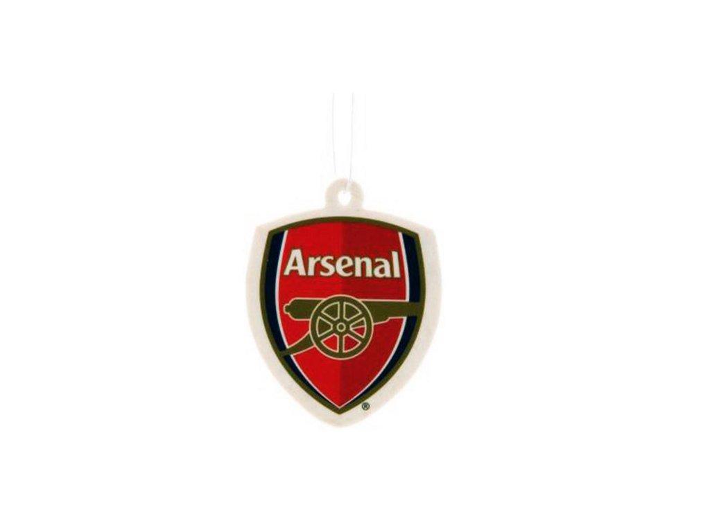 OSVĚŽOVAČ VZDUCHU ARSENAL FC  VŮNĚ DO AUTA ZNAK 7 x 8,5 cm