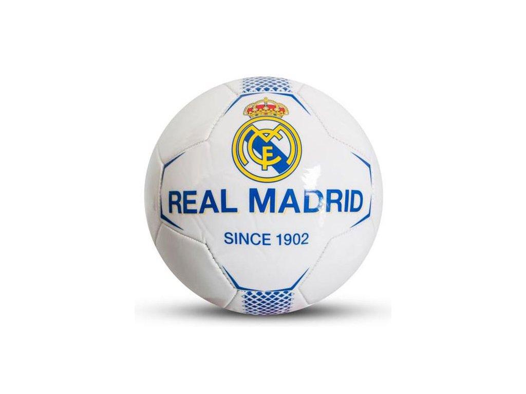 MÍČ|REAL MADRID FC  HRACÍ MÍČ|VELIKOST 5|BÍLÝ|ZNAK