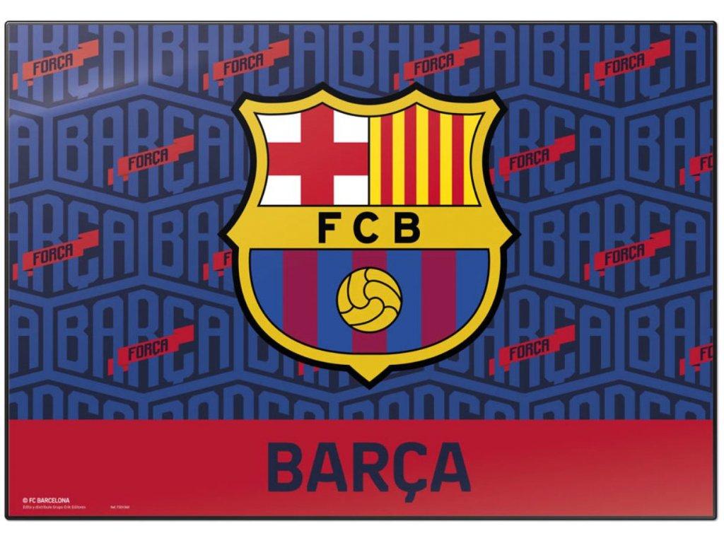 PODLOŽKA NA STŮL BARCELONA FC  ZNAK 49,5 x 34,5 cm