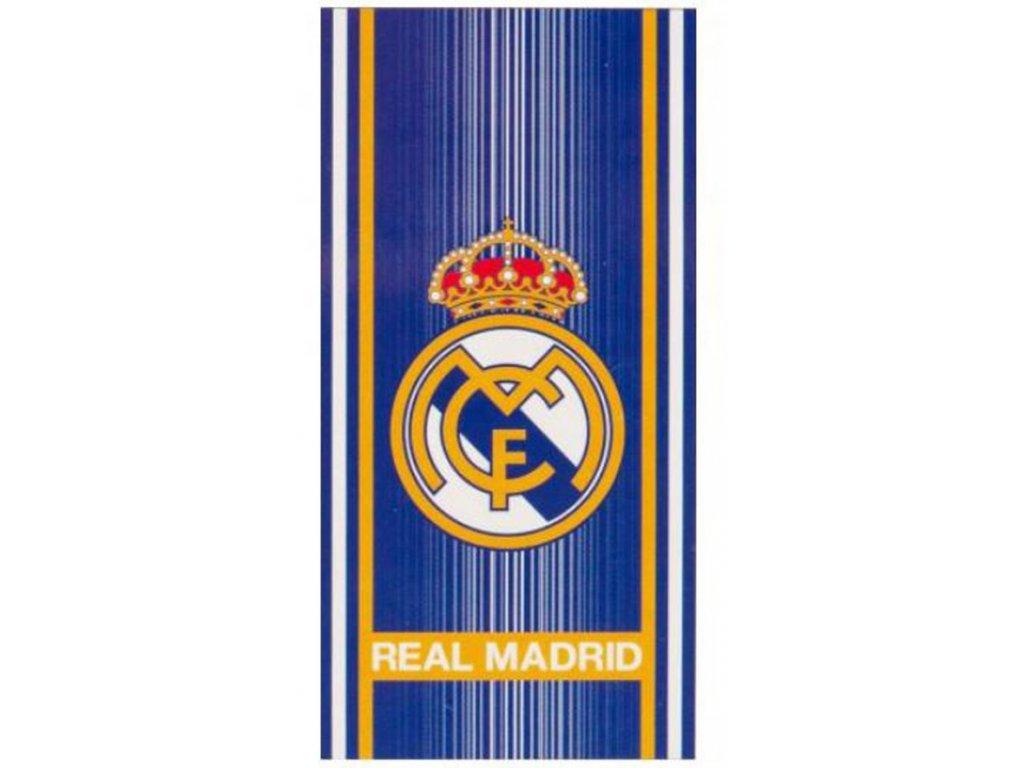 RUČNÍK OSUŠKA|REAL MADRID FC  70 x 140 cm|ST|MODRÁ
