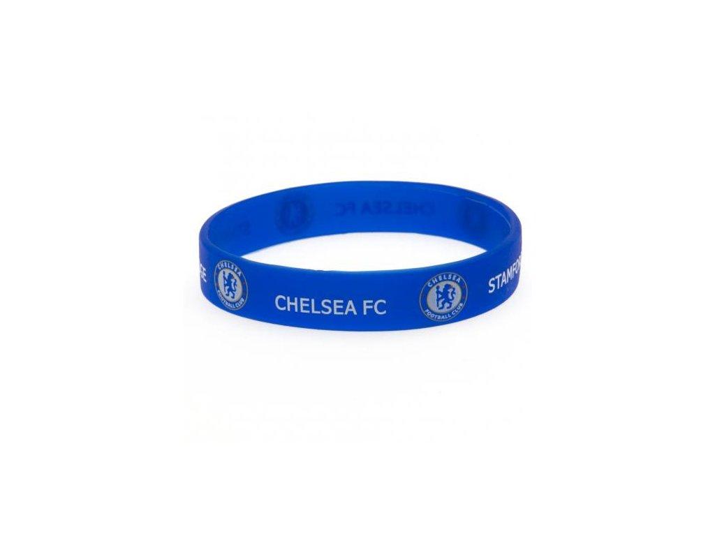 NÁRAMEK SILIKONOVÝ|CHELSEA FC  MODRÝ|ZNAK|PRŮMĚR 7 cm
