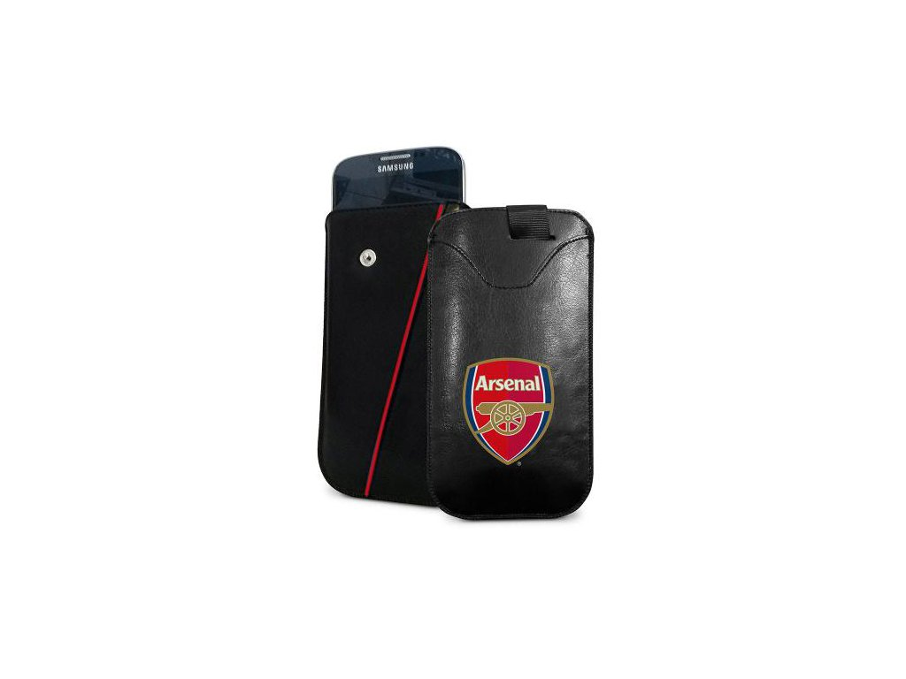 OBAL NA TELEFON|ARSENAL FC  LARGE|ČERNÝ|SAMSUNG GALAXY|iPHONE 6