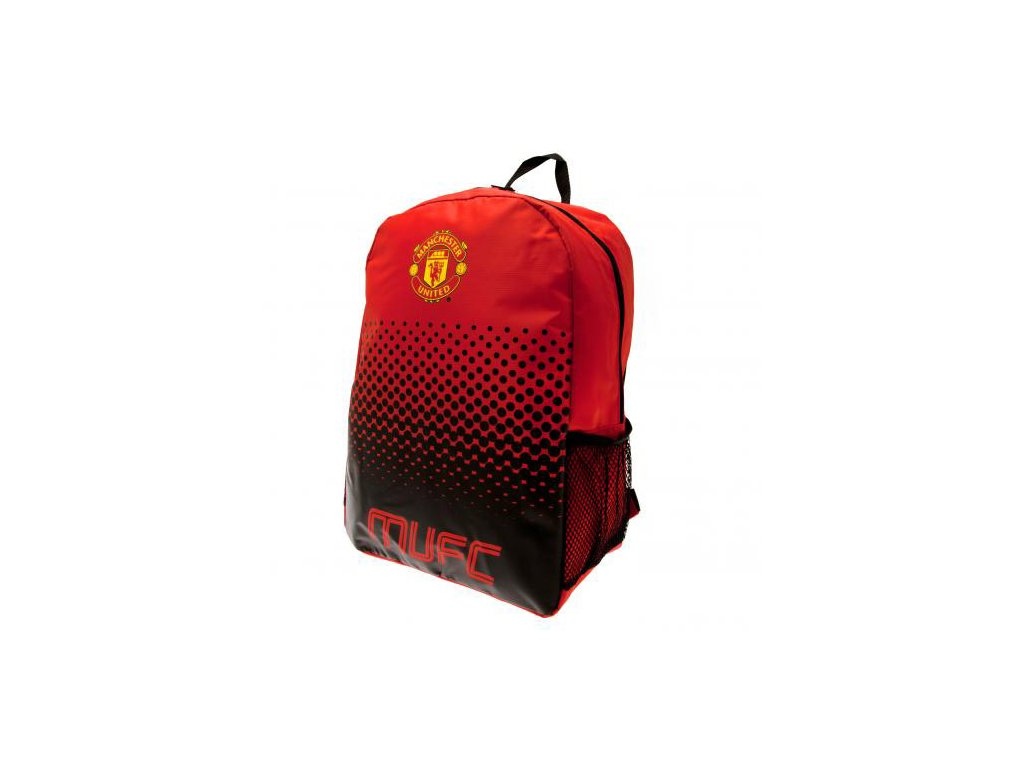 BATOH|MANCHESTER UNITED FC  FADE|RED|30 x 40 x 14 cm