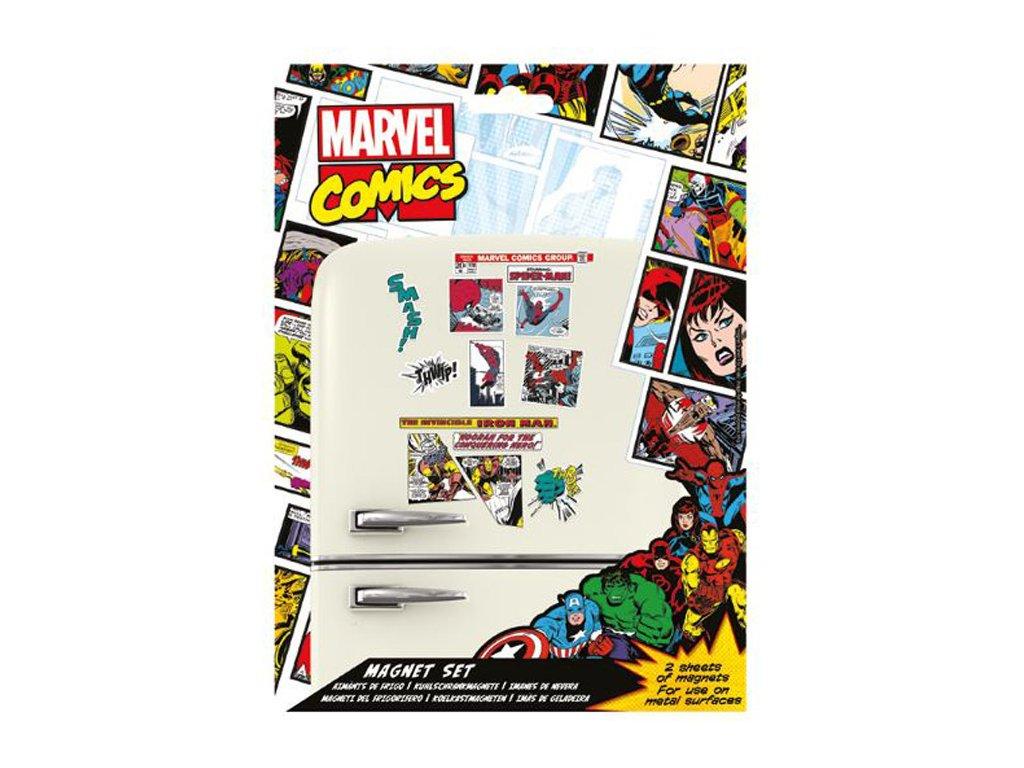 MAGNETY SET|MARVEL COMICS  MARVEL COMIC|2 ARCHY|18 x 24 cm