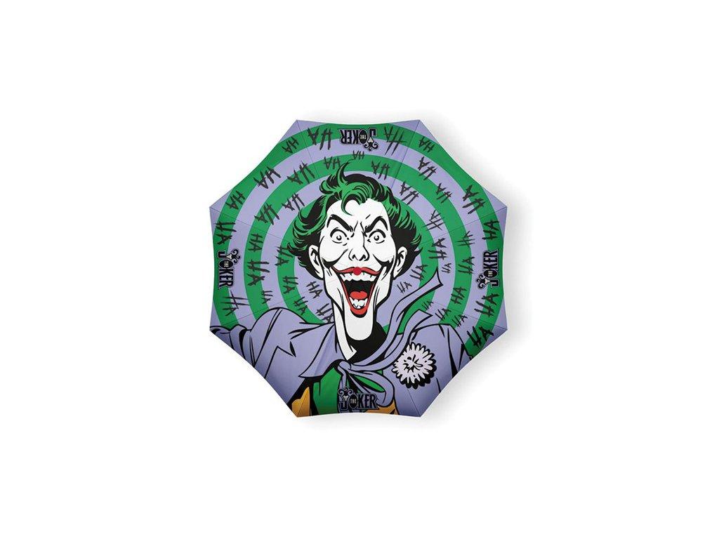 DEŠTNÍK SKLÁDACÍ|DC COMICS|BATMAN  THE JOKER HAHAHA|PRŮMĚR 50 cm