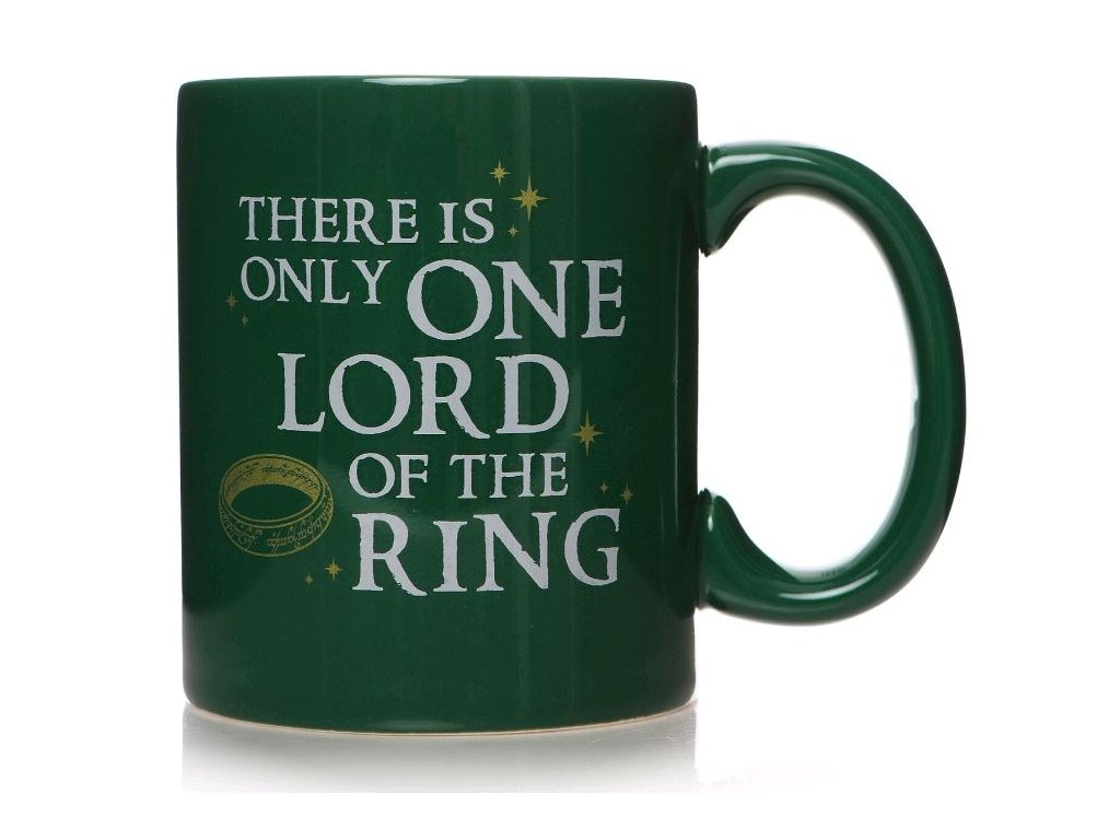 HRNEK KERAMICKÝ|LORD OF THE RINGS  350 ml|ONLY ONE LORD