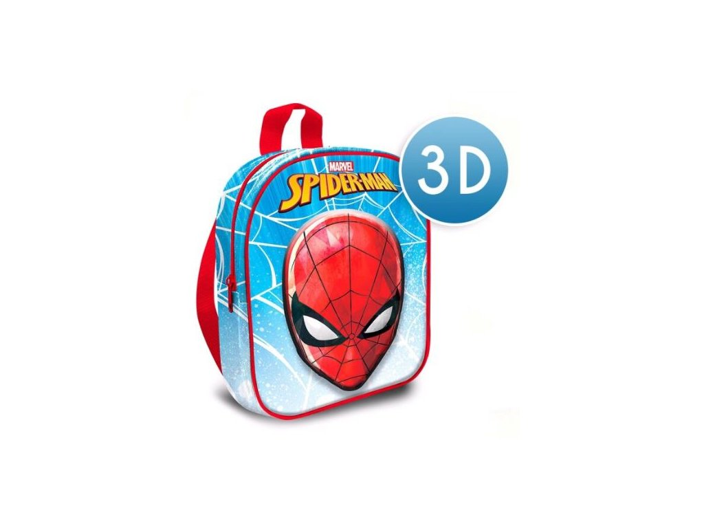 BATOH DĚTSKÝ 3D|MARVEL|SPIDERMAN  SPIDERMAN|24 x 30 x 10 cm