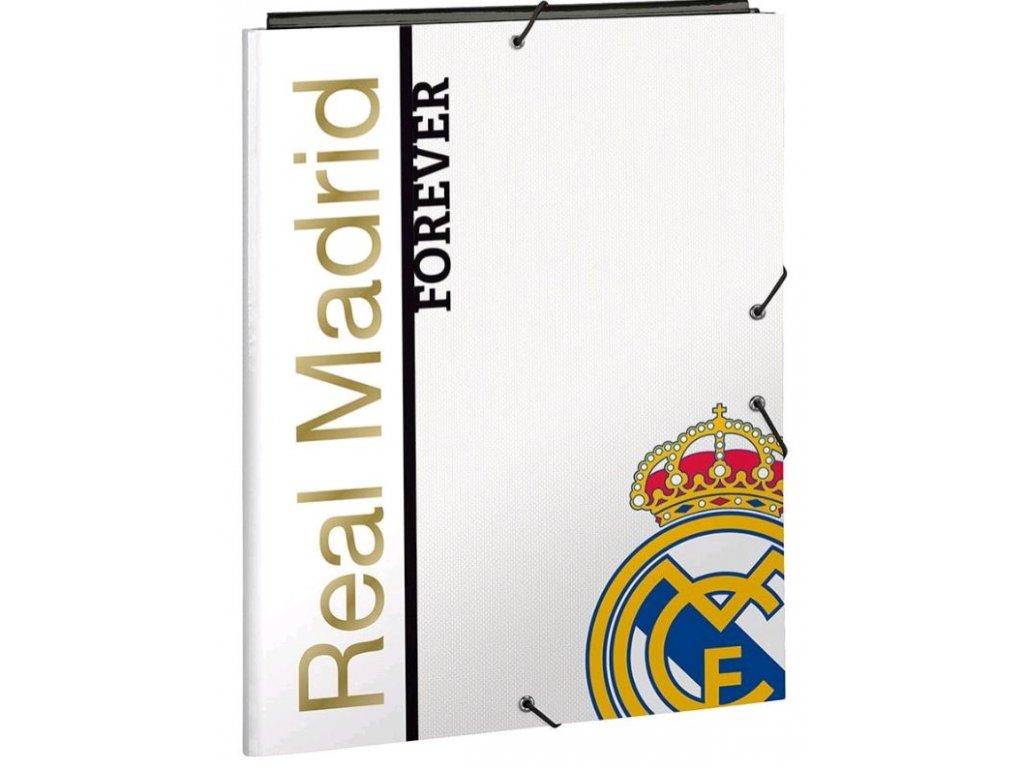 SLOŽKA A4 3 KLOPY|REAL MADRID FC  VZOR 068 11929|26 x 33 x 2 cm