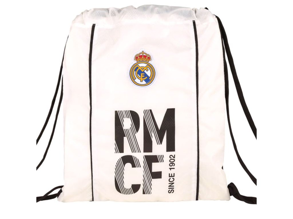 PYTLÍK GYM BAG|REAL MADRID FC  RMCF|196 12075|35 x 40 cm