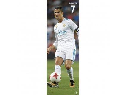 PLAKÁT 53 x 158 cm REAL MADRID FC  CRISTIANO RONALDO 2017-2018