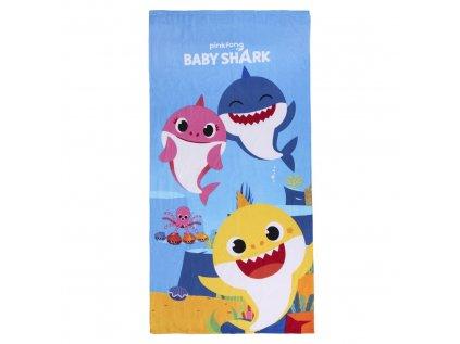 RUČNÍK OSUŠKA DĚTSKÝ|BABY SHARK  140 x 70 cm|240 g