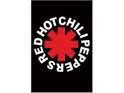 PLAKÁT 61 x 91,5 cm|RHCHP  RED HOT CHILI PEPPERS|LOGO