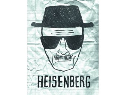 POHLEDNICE A6|10,5 cm x 14,7 cm  BREAKING BAD|HEISENBERG|SET 10 KUSŮ