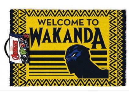 ROHOŽKA|AVENGERS|BLACK PANTHER  WELCOME TO WAKANDA|60 x 40 cm