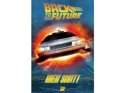 PLAKÁT 61 x 91,5 cm  BACK TO THE FUTURE|GREAT SCOTT!