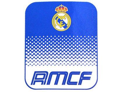 DEKA FLEECE|REAL MADRID FC  125 x 150 cm|FADE|MODRÁ