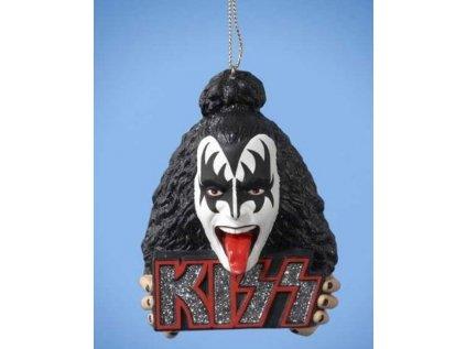 PŘÍVĚSEK 3D KISS  3D DEMON HEAD GENE SIMMONS PLAST