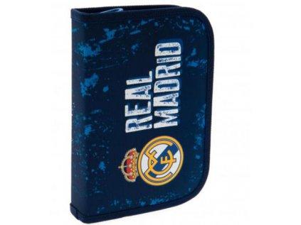 POUZDRO ŠKOLNÍ|FC REAL MADRID  JEDNODUCHÉ|20 x 13 x 3 cm