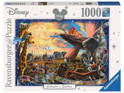 PUZZLE|DISNEY  THE LION KING|1000 KUSŮ