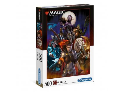 PUZZLE|MAGIC THE GATHERING  PLANESWALKER|500 KUSŮ