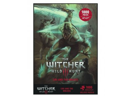 PUZZLE|WITCHER 3  CIRI AND THE WOLVES|1000 KUSŮ