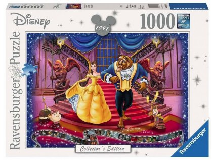 PUZZLE|DISNEY  BEAUTY AND THE BEAST|500 KUSŮ