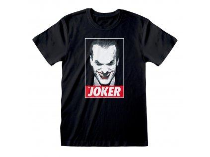 TRIČKO PÁNSKÉ|DC COMICS|BATMAN  THE JOKER|ČERNÉ|