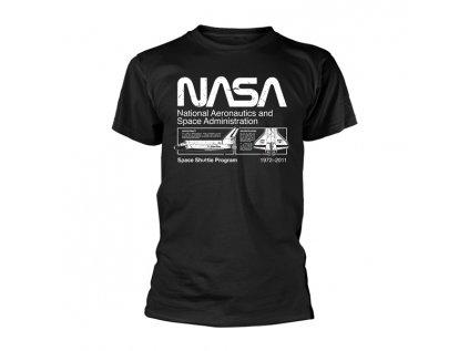 TRIČKO PÁNSKÉ|NASA  SPACE SHUTTLE PROGRAM|ČERNÉ|