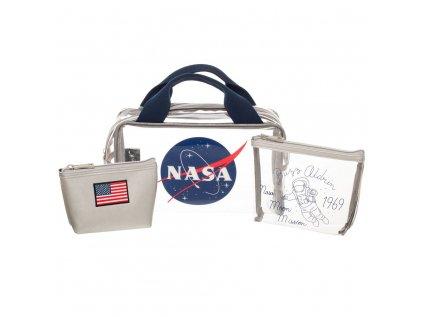 TAŠKA CESTOVNÍ|NASA SET 3 KUSŮ  GET YOU TO THE MOON|SET 3 KUSŮ