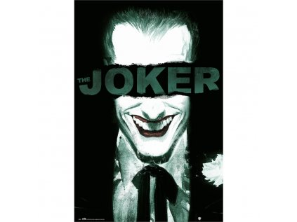 PLAKÁT 61 x 91,5 cm|DC COMICS  THE JOKER|SMILE