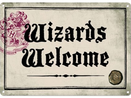 CEDULE NA ZEĎ A5|HARRY POTTER  WIZARDS WELCOME|14,8 x 21 cm