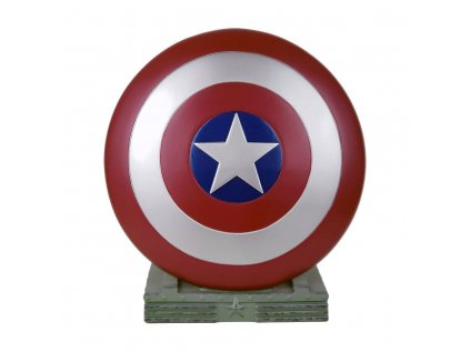 POKLADNIČKA|MARVEL  25 cm|CAPTAIN AMERICA SHIELD|PVC
