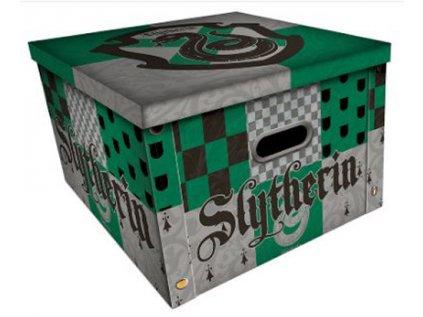 ÚLOŽNÝ BOX KRABICE  HARRY POTTER|SLYTHERIN