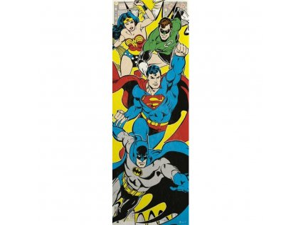 PLAKÁT 53 x 158 cm|DC COMICS  SUPERHEROES