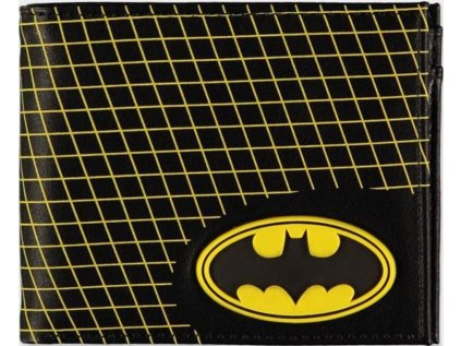 PENĚŽENKA OTEVÍRACÍ|DC COMICS  BATMAN|LOGO|10 x 9 cm