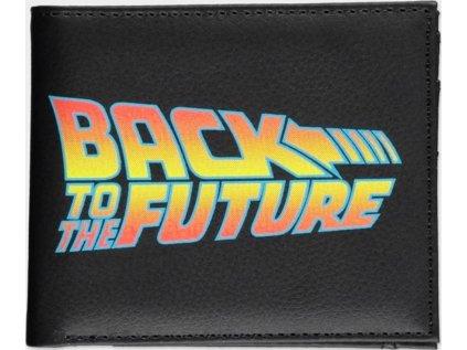 PENĚŽENKA OTEVÍRACÍ  BACK TO THE FUTURE|LOGO|10 x 9 cm