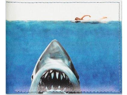 PENĚŽENKA OTEVÍRACÍ|JAWS  SHARK ATTACK|10 x 9 cm