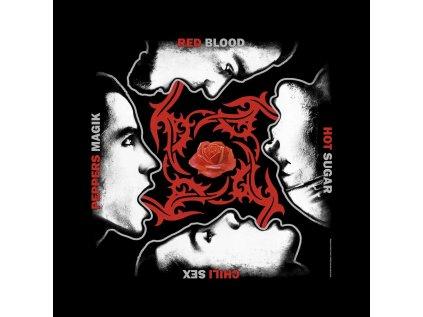 ŠÁTEK|RED HOT CHILI PEPPERS  BLOOD SUGAR SEX MAGIK|55 x 55 cm
