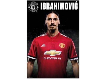 PLAKÁT 61 x 91,5 cm|MAN UNITED FC  ZLATAN|2017-2018 (C)
