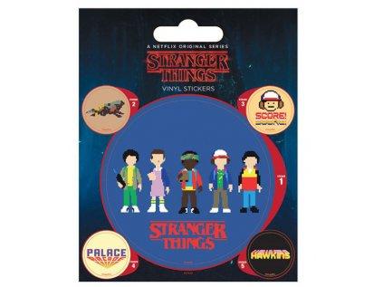 SAMOLEPKY|SET 5 KUSŮ  STRANGER THINGS|10 x 12,5 cm