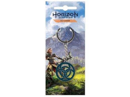 PŘÍVĚSEK NA KLÍČE|HORIZON ZERO DAWN  ALOY'S CLAN|KOVOVÝ|5 cm