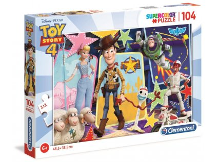 PUZZLE|DISNEY|TOY STORY 4  WOODY AND FRIENDS|104 KUSŮ