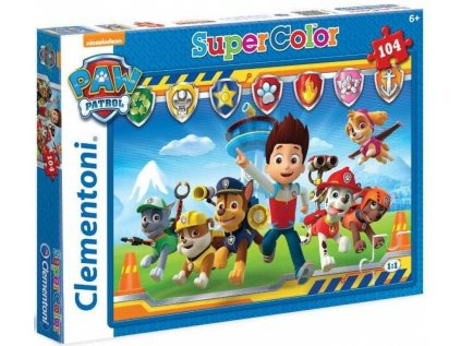 PUZZLE PAW PATROL  CHARACTERS 104 KUSŮ