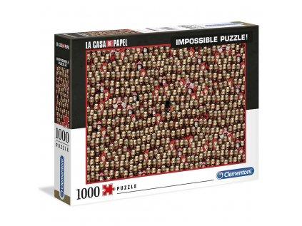 PUZZLE 1000 KUSŮ LA CASA DE PAPEL  MASKS 69 x 50 cm