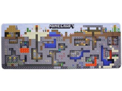 PODLOŽKA HERNÍ|MINECRAFT  WORLD|80 x 30 cm