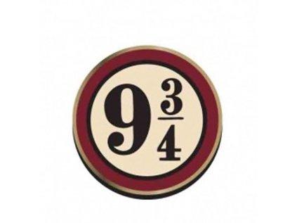 ODZNAK HARRY POTTER  PLATFORM 9 3/4 3,2 x 3,2 cm