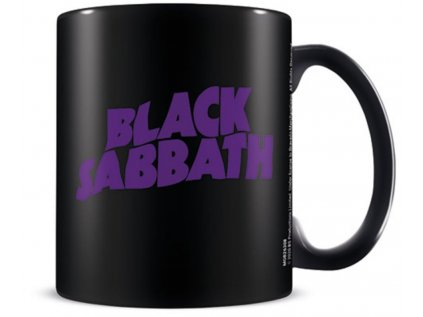 HRNEK KERAMICKÝ|BLACK SABBATH  315 ml|BLACK SABBATH LOGO