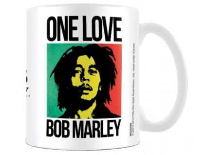 HRNEK KERAMICKÝ|BOB MARLEY  315 ml|ONE LOVE