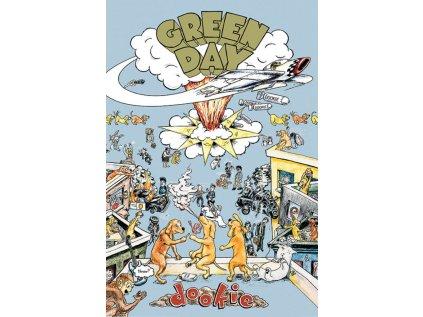 PLAKÁT 61 x 91,5 cm|GREEN DAY  DOOKIE